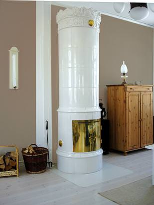 ane example Ceramic Stove installation